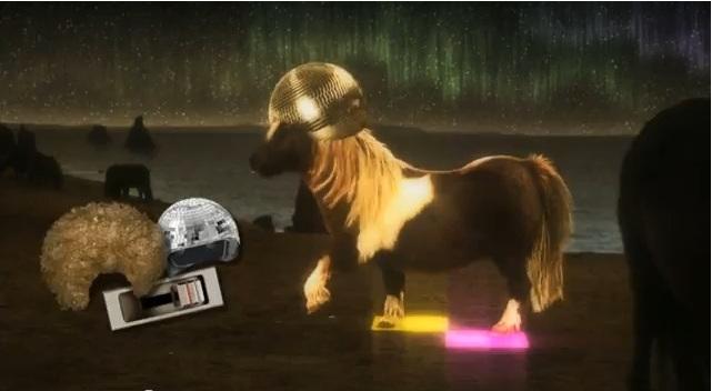 poney qui danse