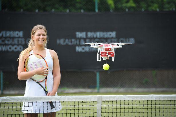 Virgin-Active-Drones-help-tennis-stars-practice-for-Wimbledon