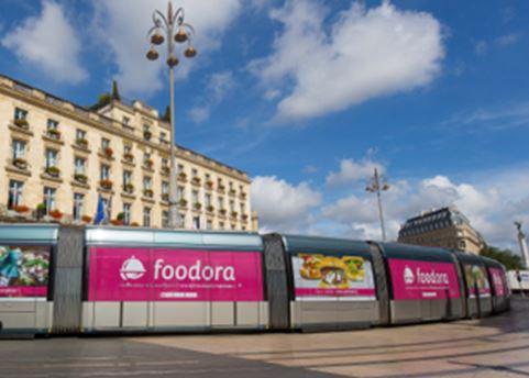 foodora campagne affichage