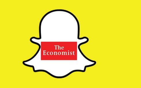 the economist snapchat