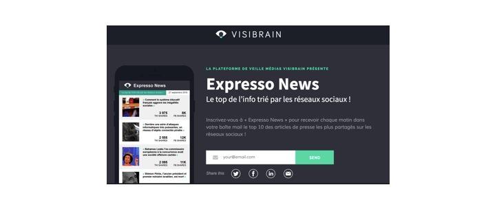 visibrain expresso news
