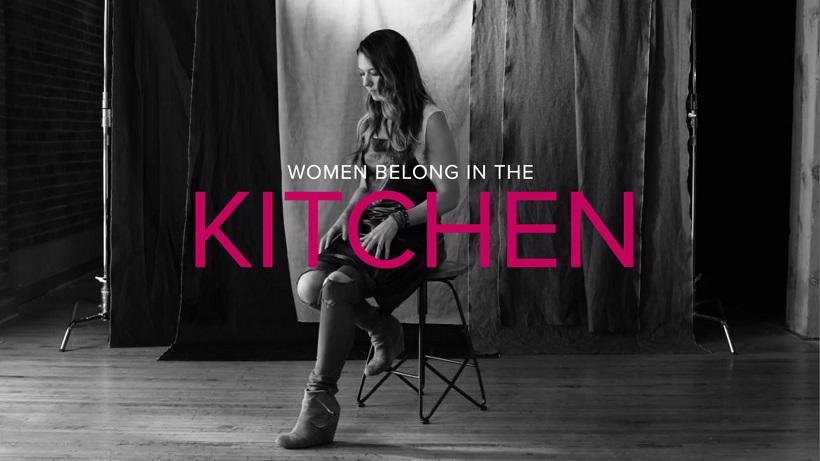 women kitchen