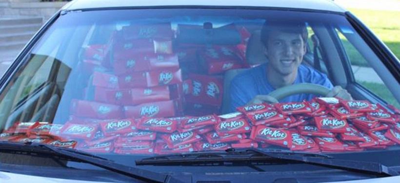 Kit Kat thief