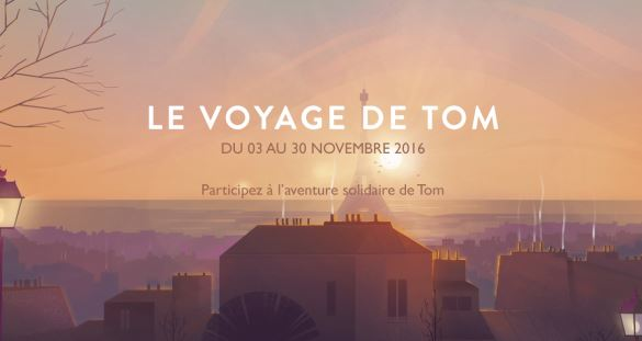 le voyage de tom groupe up