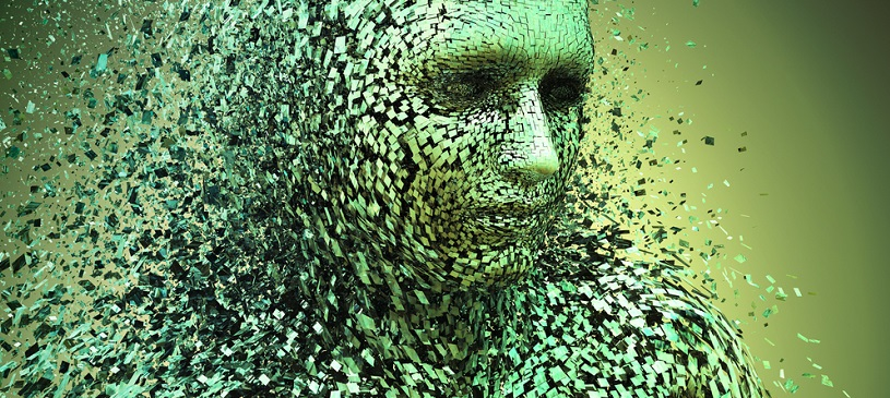 pixel man