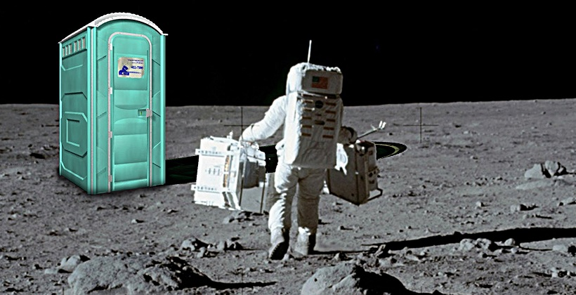 toilettes in space