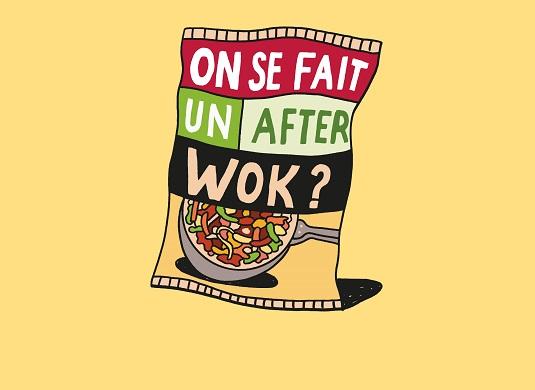 after wok