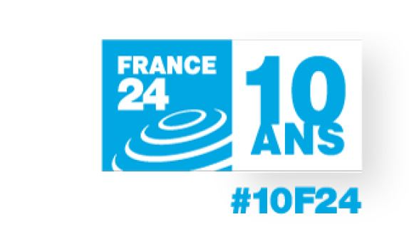 france24 10 ans logo