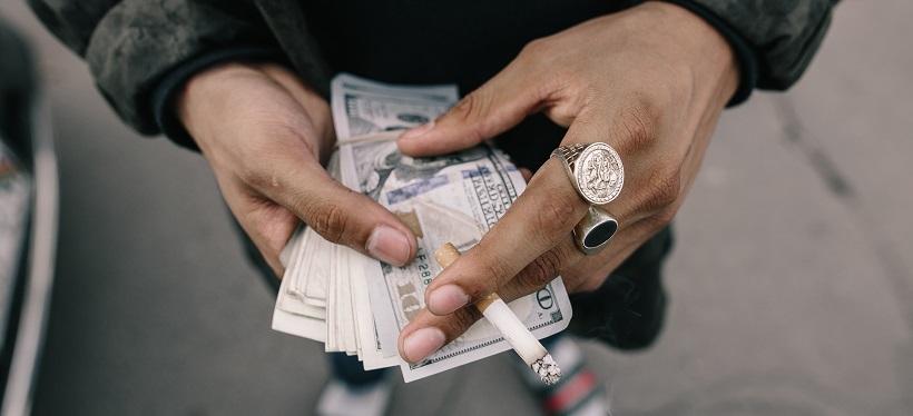 cigarettes argent