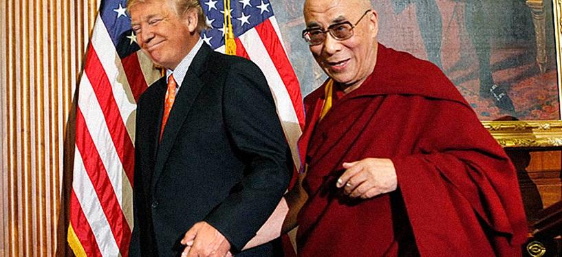 donald trump dalai lama