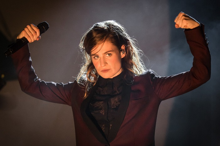 Christine and the Queens (F) @ Fri-Son, Fribourg, Suisse, 05.12.