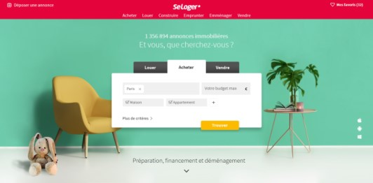 site web seloger
