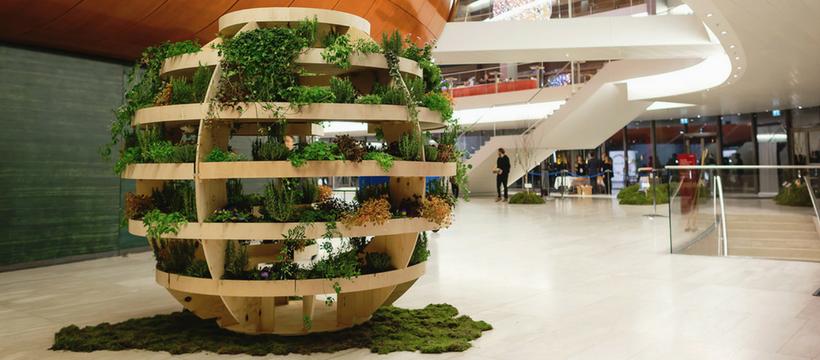Ikea Invente Le Jardin Urbain Spherique L Adn