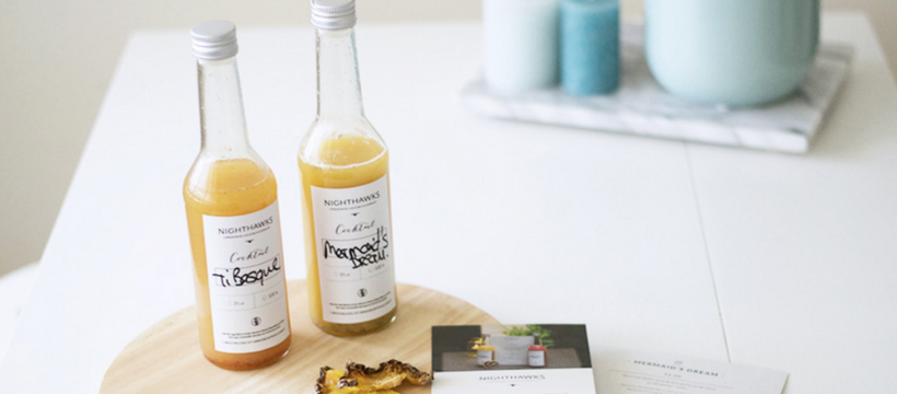 cocktails alcool nighthawks startup