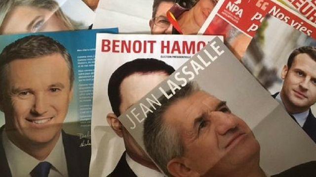 tracts électoraux français en 2017