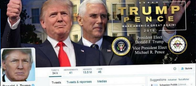 Trump réseaux sociaux