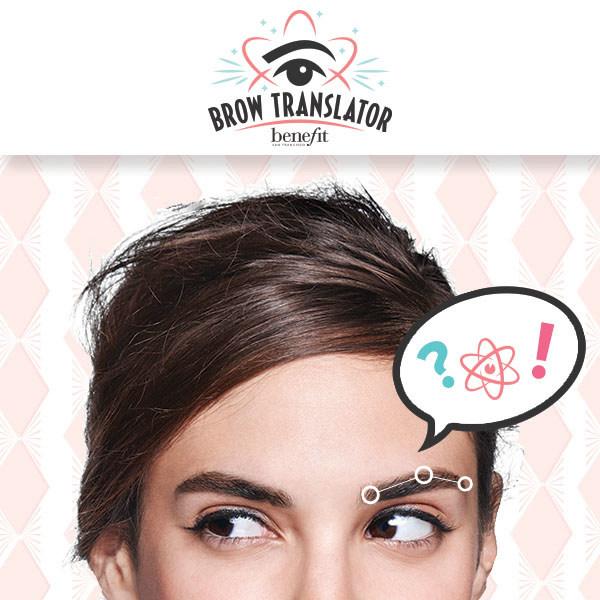 Brow Translator