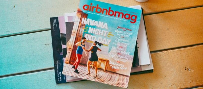 Airbnb lance son magazine