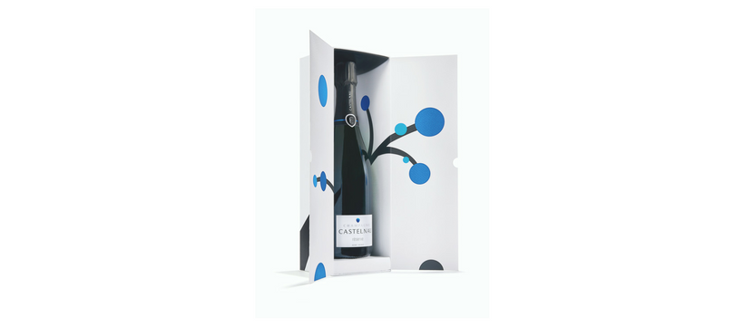 bouteille alcool castelnau champagne