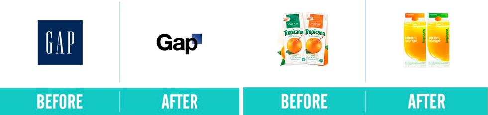 logos gap tropicana packaging