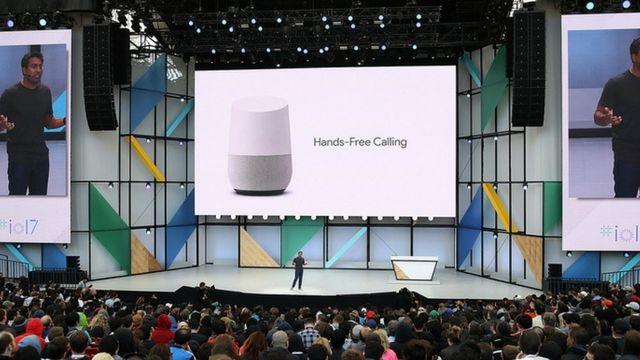 Présentation d'ouverture de la conférence annuelle Google I/O