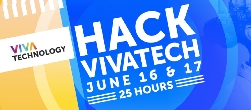 affiche hackathon vivatech