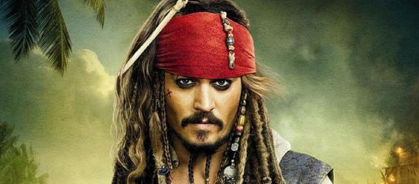 Johnny Depp Pirates des Caraïbes 5