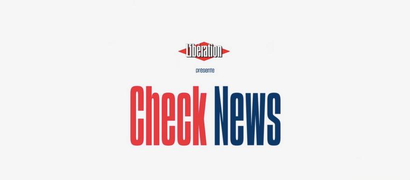 """Résultat de recherche d'images pour """"libé checknews"""""""