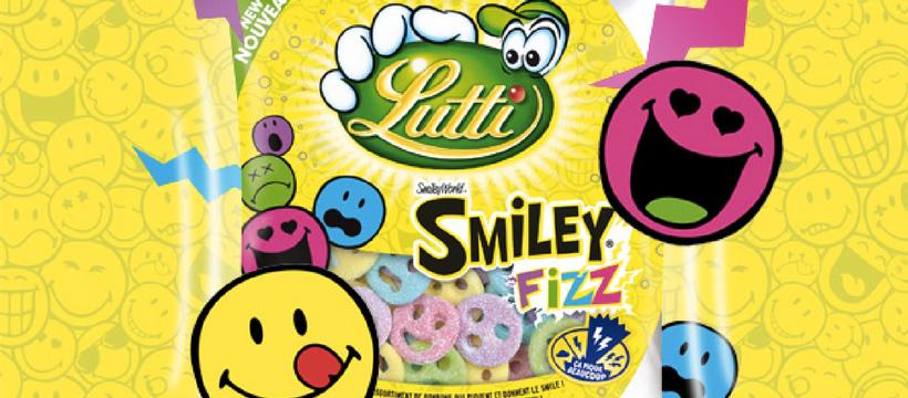 packaging lutti smiley fizz