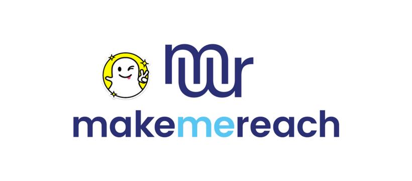 logo makemereach snapchat