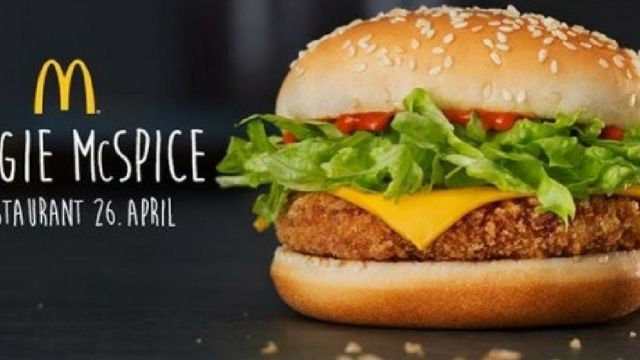 burger vegan mcdonald's