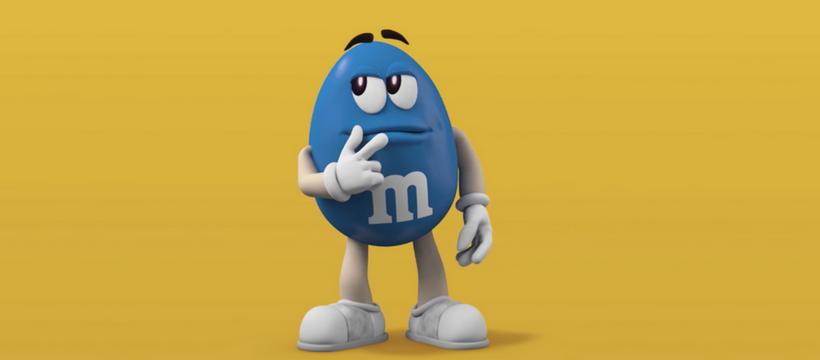m&m's bleu