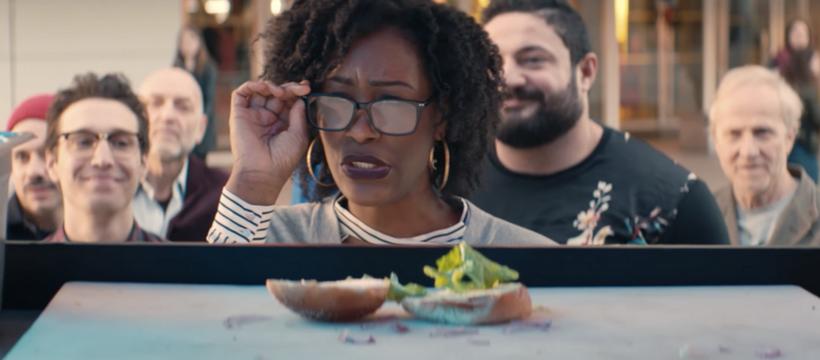 vision food truck femme lunettes