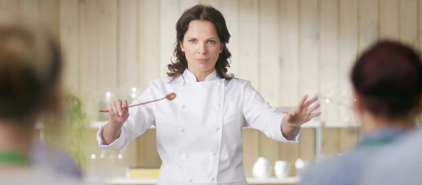 femme cuisinière orchestre