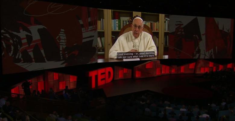 Pape François Conférence TED