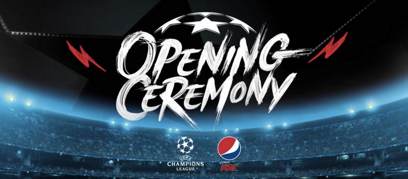 opening ceremony pepsi uefa
