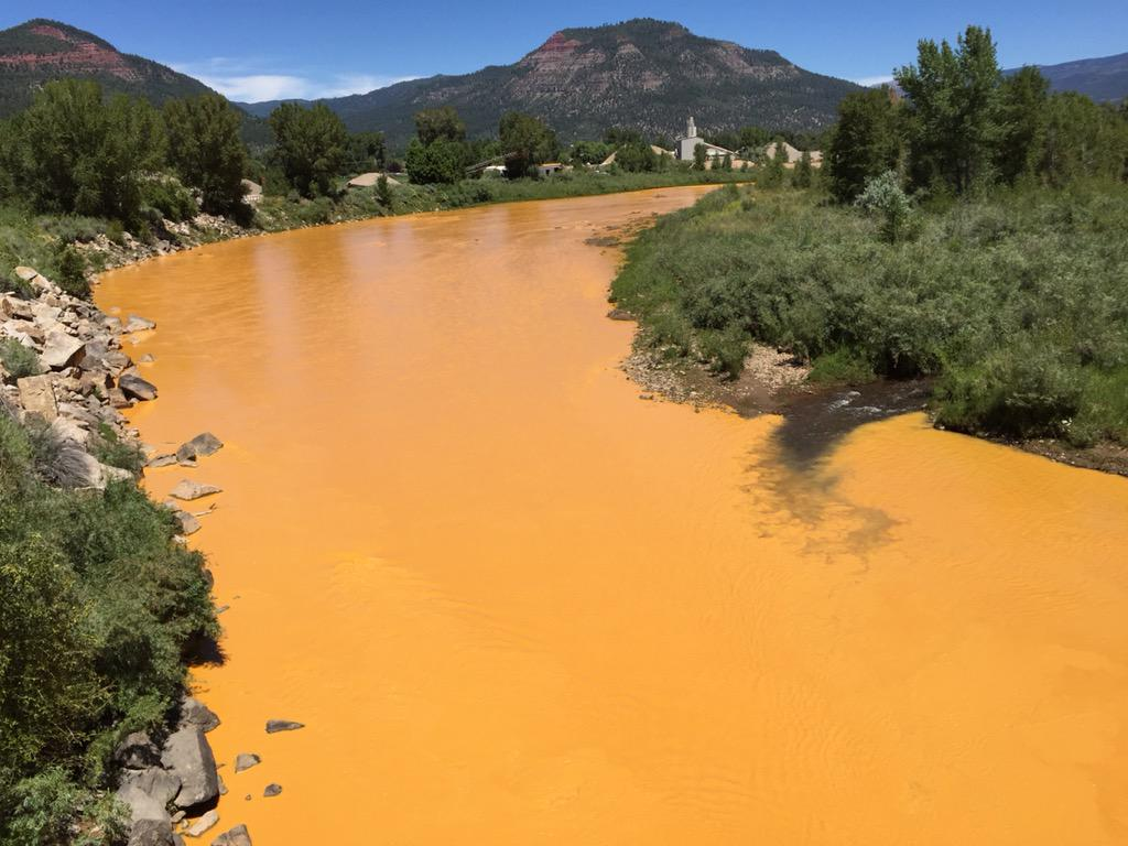 Rivière Animas Colorado