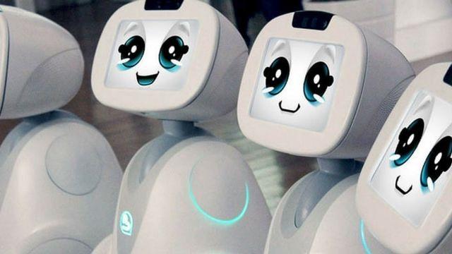 Buddy Robot connecté