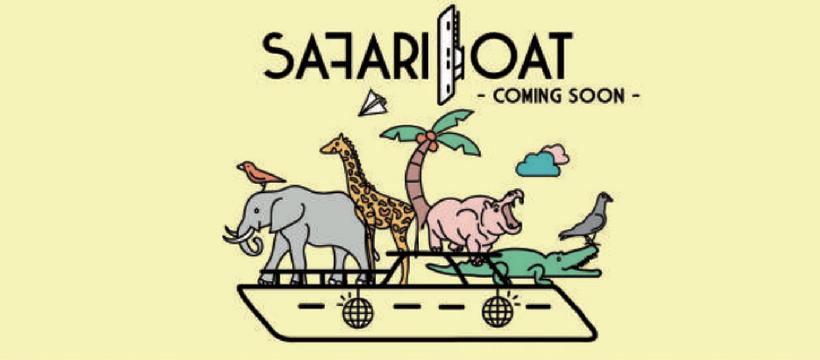 logo safari boat
