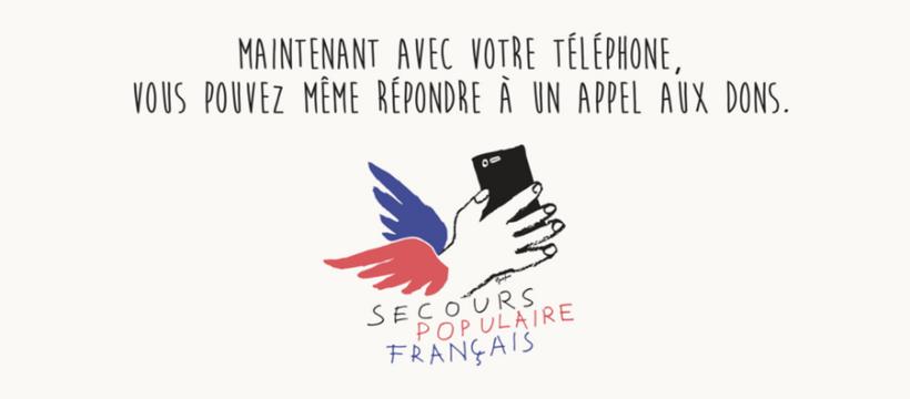 affiche secours populaire français