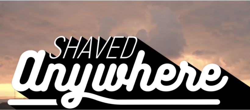 shave anywhere