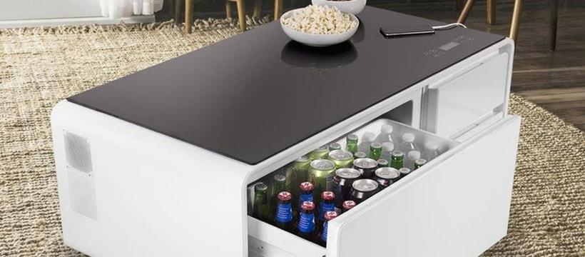 Sobro, une table avec frigo intégré