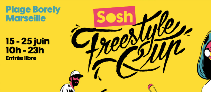 affiche sosh freestyle cup