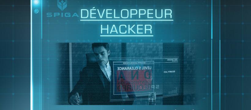 homme hacker science fiction