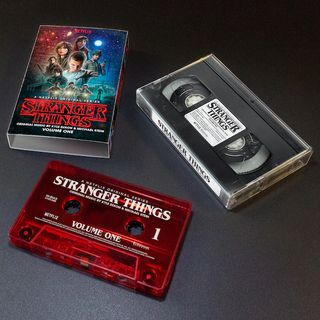 Cassette audio Stranger Things