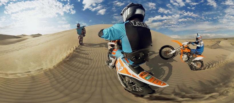 Vidéo 360° moto