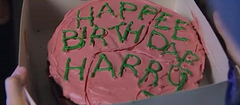 Gâteau d'anniversaire Harry Potter