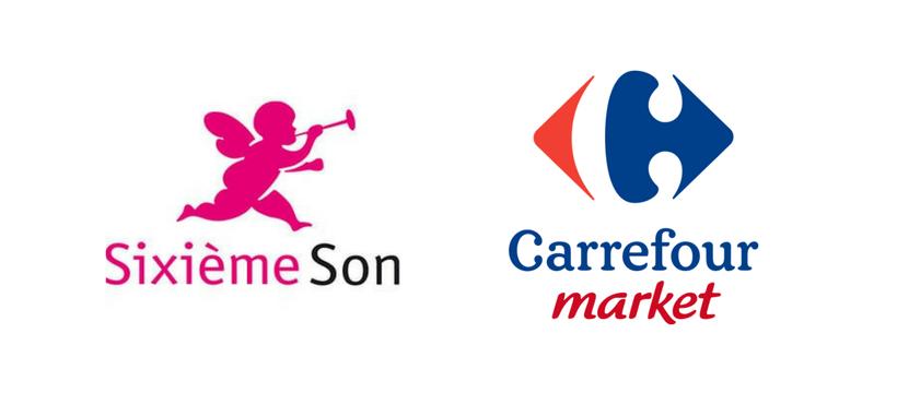 logos carrefour sixieme son
