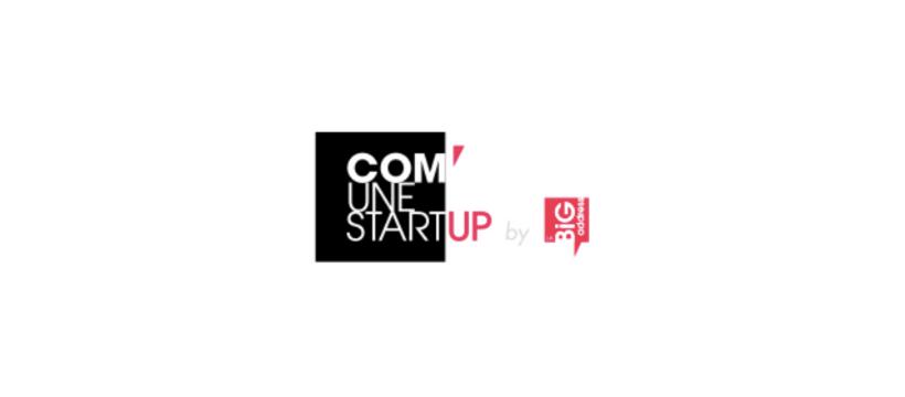 logo com'une start-up