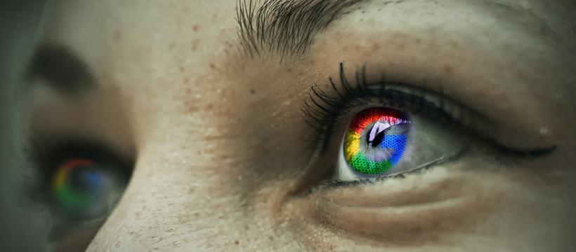 Yeux de femme Google